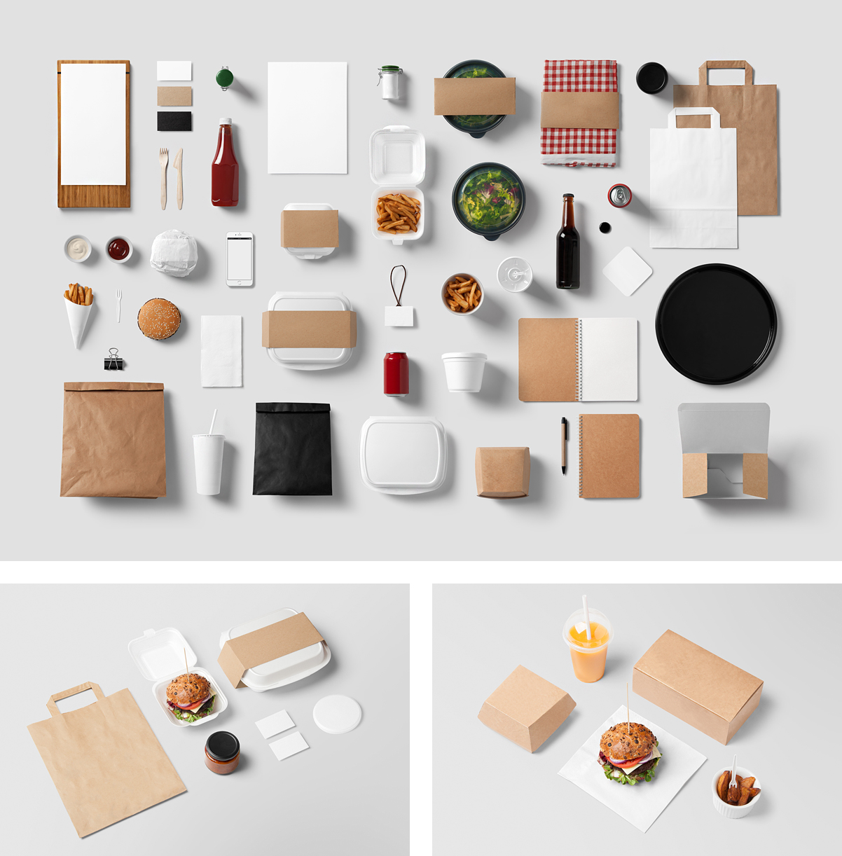 01_Burger_Bar_Stationery_Mockup
