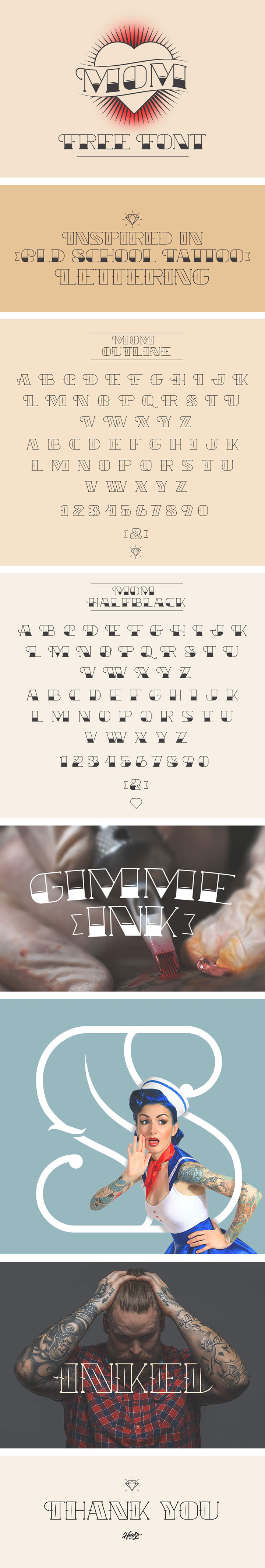 Collection of free Typefaces